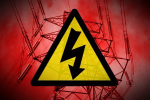 Electricity-warning