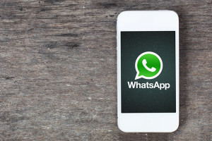 Whatsapp-logo-on-phone