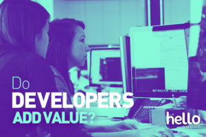 How Developers Add Value